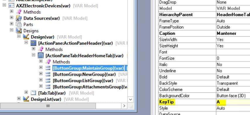 atajos de teclado dynamics ax 2012 r3