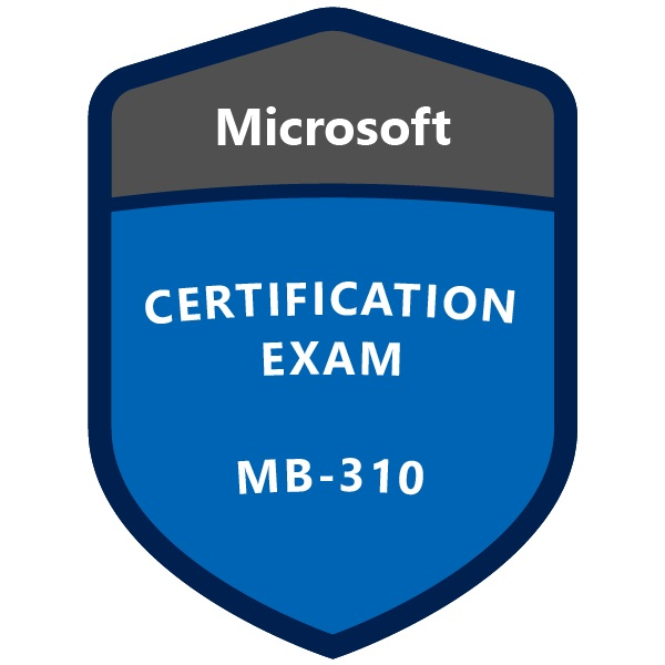 Microsoft Certification Exam MB-310