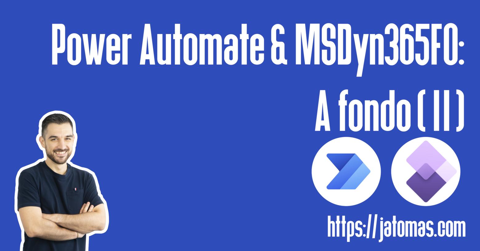 power automate msdyn365fo a fondo